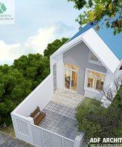 Xây dựng nhà vườn cấp 4 tại Đông Anh – Hà Nội