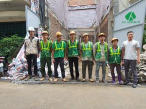 Đội ngũ thi công trọn gói ADF