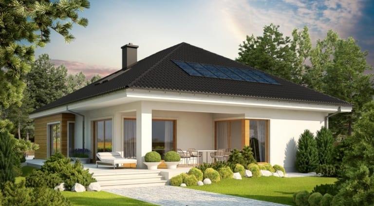 Mái thái kết hợp nhà vườn