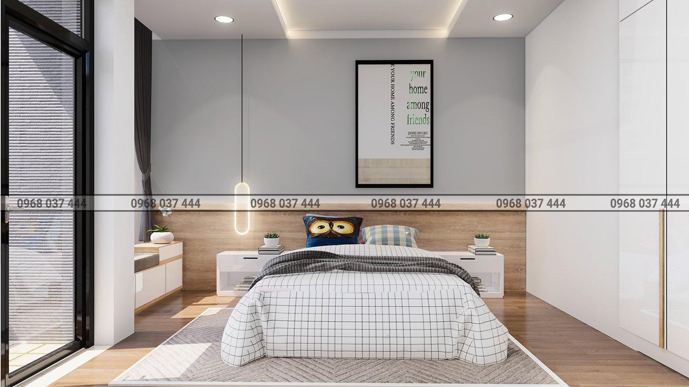 Phòng ngủ đơn cho con trai