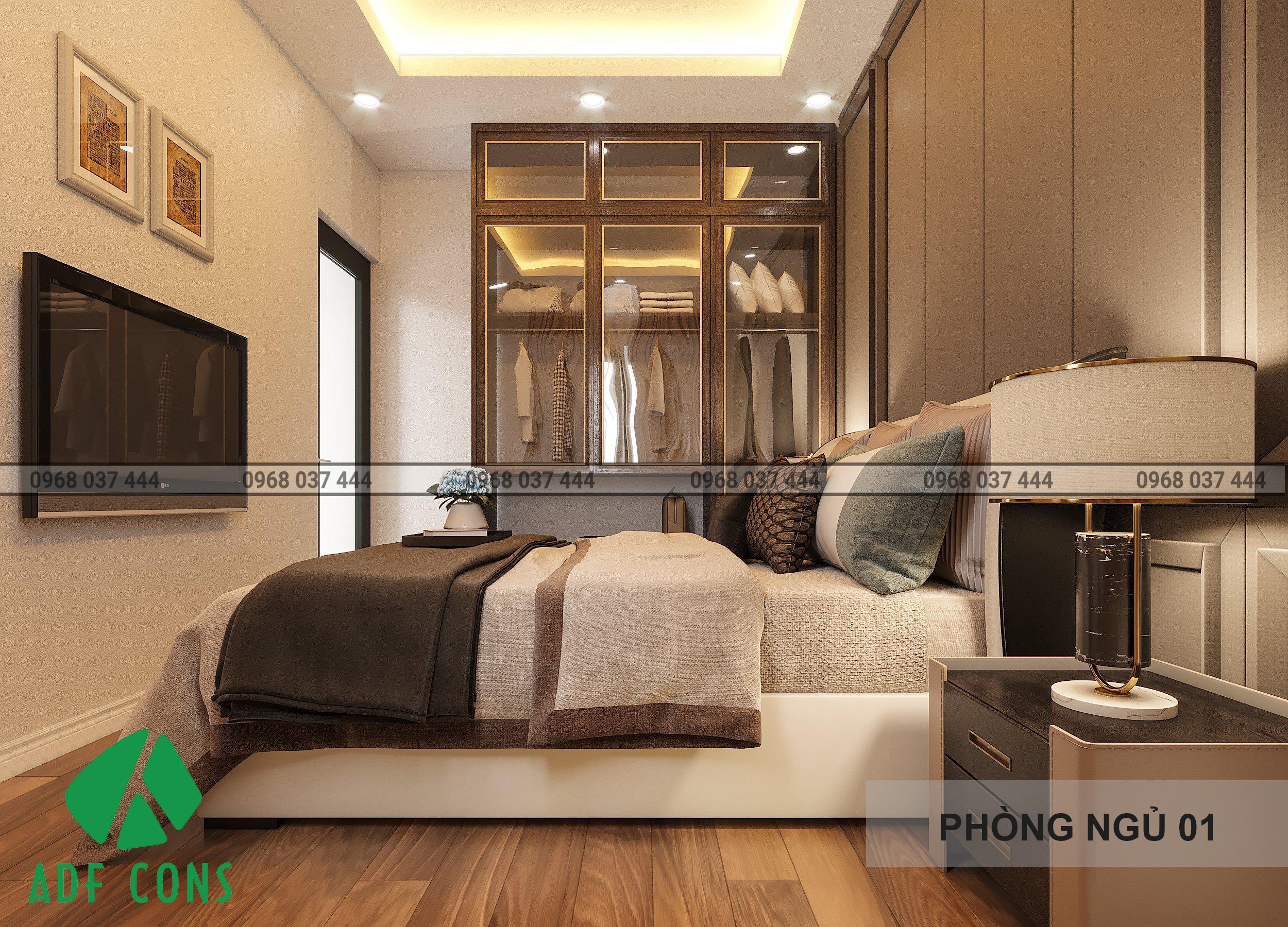 Phòng ngủ tầng 1 từ hướng nhìn khác